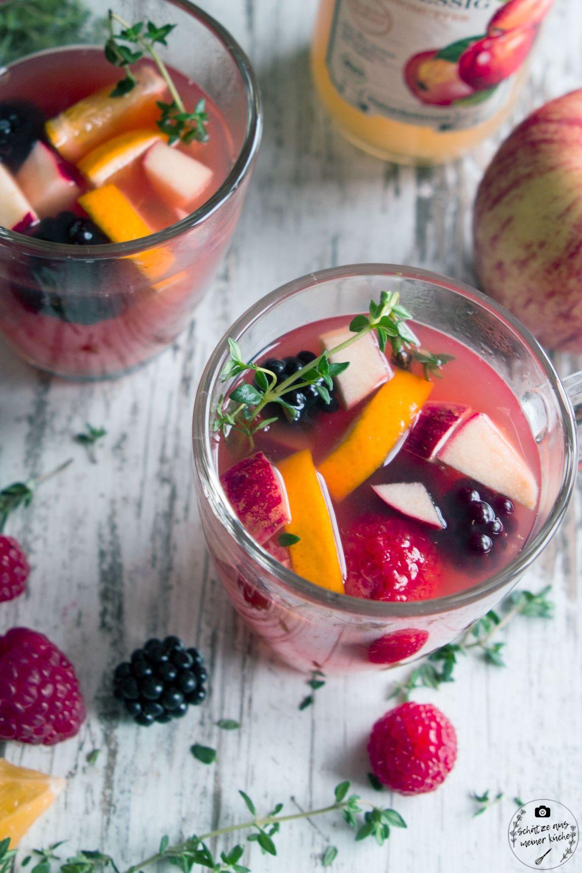 Berry-Apple-Punch Apfelessig Mazzetti l'Originale