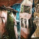Martin Breuer Öl auf Leinwand, 100 x 100 cm 2013