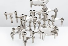 Ceasar Stoffi candlesticks produced by Nagel at Studio Schalling