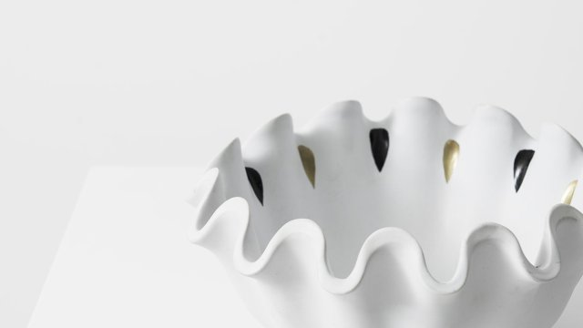 Wilhelm Kåge ceramic bowl model Våga by Gustavsberg at Studio Schalling