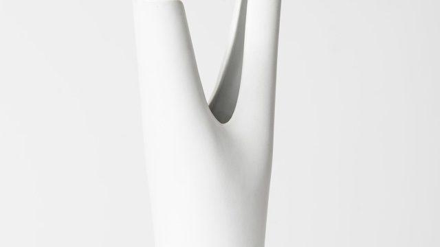 Stig Lindberg Veckla ceramic vase by Gustavsberg at Studio Schalling