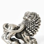 Anna Petrus sculpture in pewter at Studio Schalling