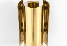 Wall lamps in brass by Falkenbergs belysning at Studio Schalling