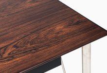 Arne Jacobsen desk in rosewood at Studio Schalling