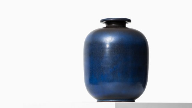 Berndt Friberg ceramic vase from 1965 at Studio Schalling