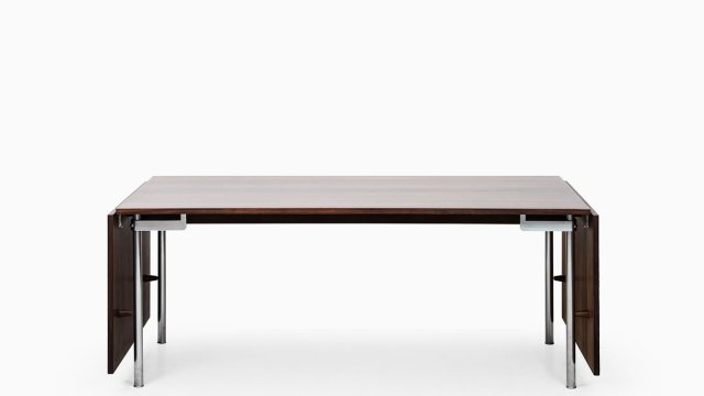 Hans Wegner dining table model AT-318 in rosewood at Studio Schalling