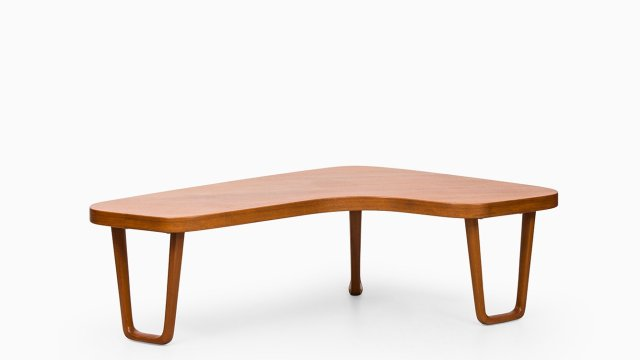 Coffee table in teak by Alberts in Tibro at Studio Schalling