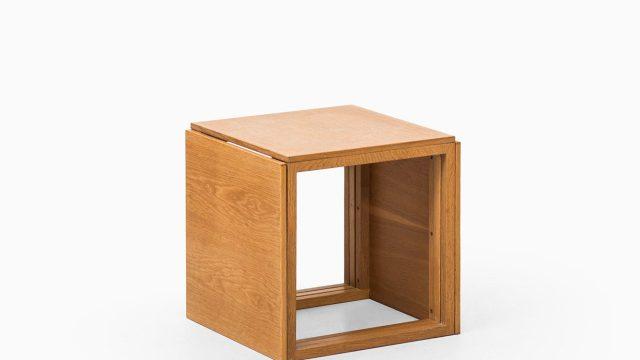 Kai Kristiansen nesting tables model 33 in oak at Studio Schalling