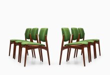 Erik Buch dining chairs model Captain at Studio Schalling