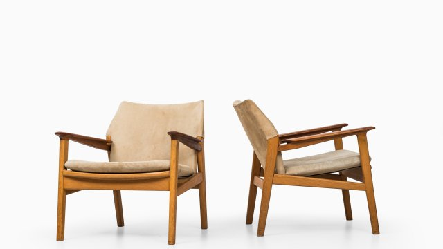 Hans Olsen easy chairs model 9015 by Gärsnäs at Studio Schalling
