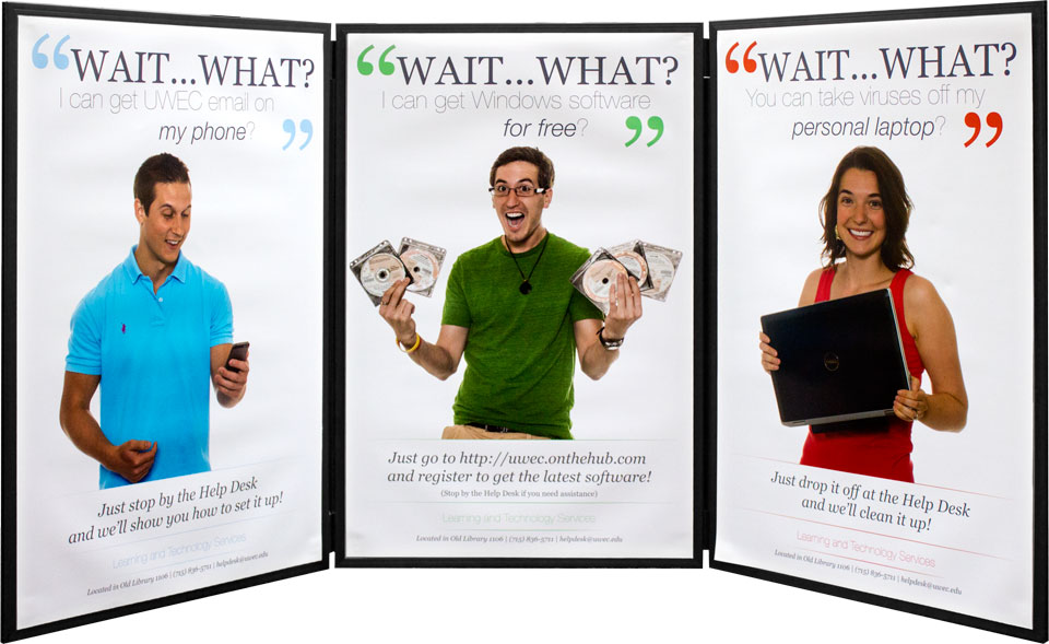 """Wait, What?"" Trifold Poster"