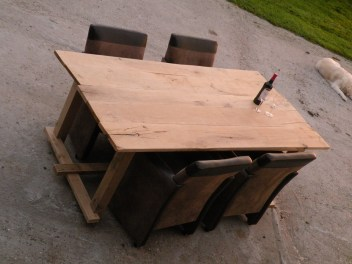 eiken tafel plank 1