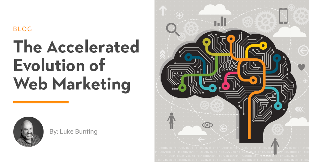 The Accelerated Evolution Of Web Marketing Scheffey Marketing
