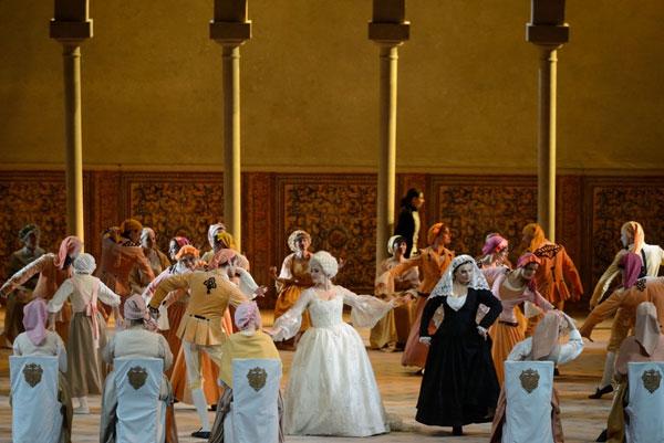 """ריקודים בחתונה - מערכה 3 (צילום: יח""""צ)"""