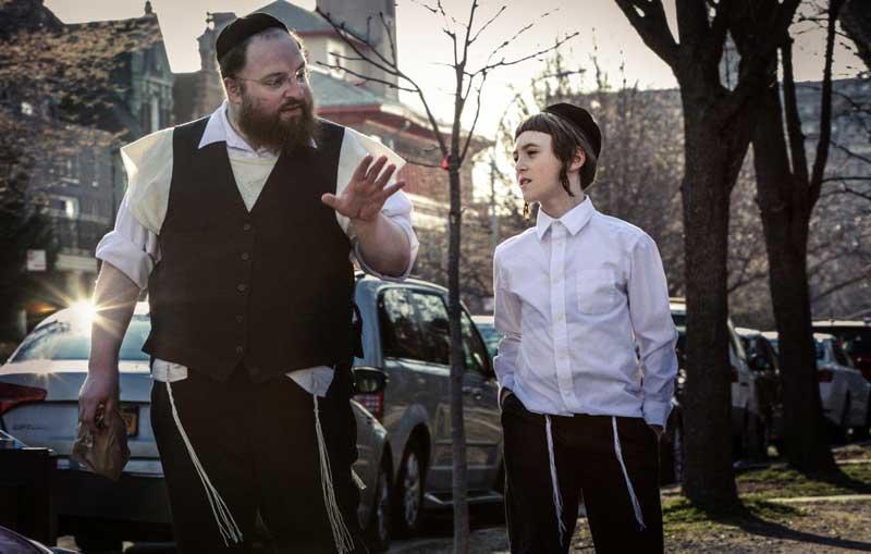 חרדים בברוקלין בסרט מנשה (צילום: פסטיבל הקולנוע ירושלים 2017)