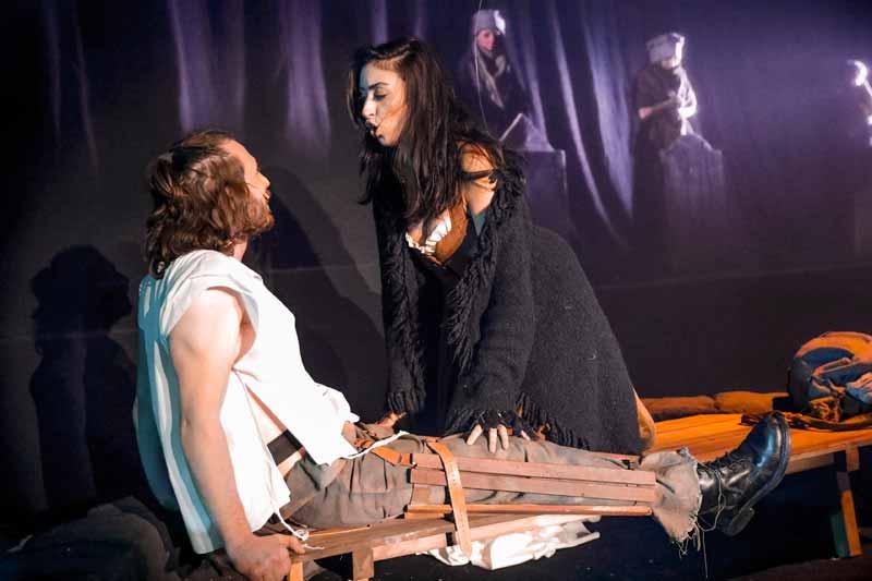 פישקה ואשתו הלא-עיוורת (צילום: רפי דלויה)
