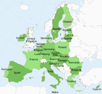 Croatia Germany Finland France Ireland