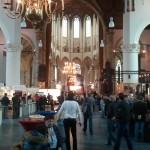 Overzicht Grote Kerk te Den Haag