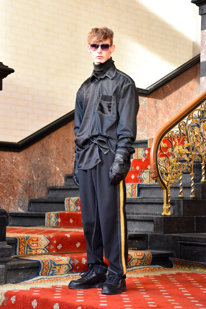 Schepers Bosman AW19 Autumn Fall Winter 2019 Paris FashionWeek Mens Menswear