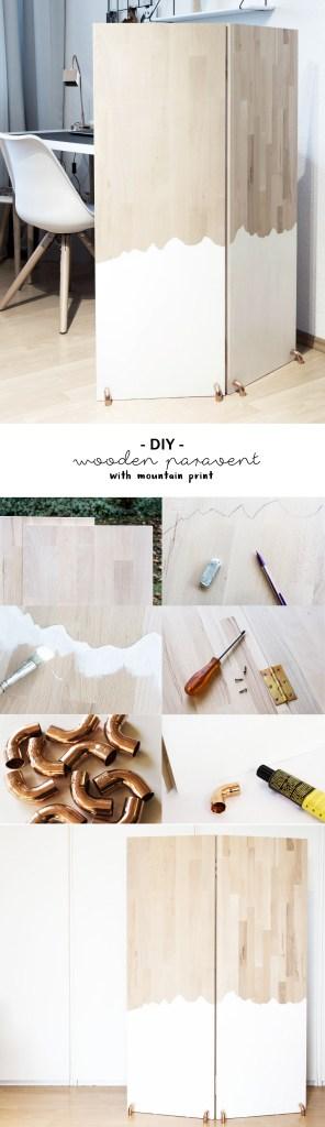 schereleimpapier DIY und Upcycling Blog aus Berlin - kreative Tutorials für Geschenke, Möbel und Deko zum Basteln – Holz Raumteiler selber bauen