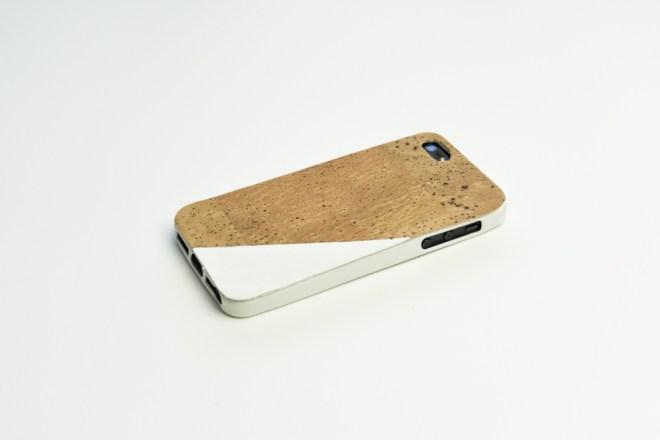 DIY Handyhülle Kork