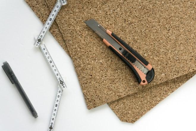 schereleimpapier DIY und Upcycling Blog aus Berlin - kreative Tutorials für Geschenke, Möbel und Deko zum Basteln - DIY Werkstatt Korkplatte
