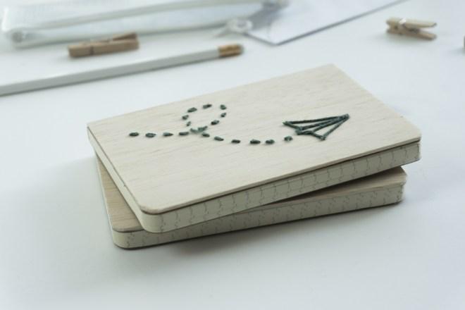 schereleimpapier DIY und Upcycling Blog aus Berlin - kreative Tutorials -DIY Balsa Holz Books