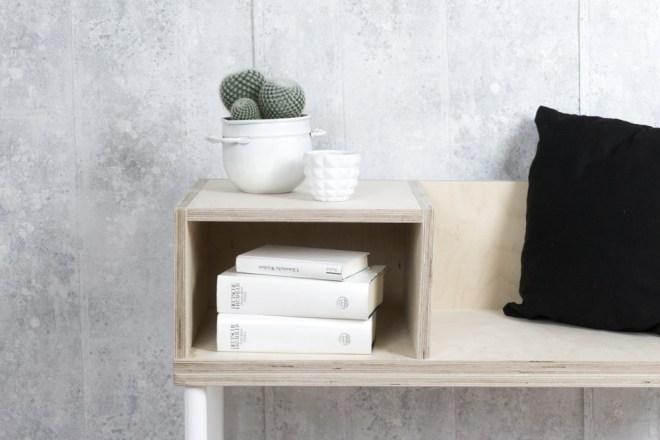 so einfach l sst sich eine diy sitzbank selber bauen. Black Bedroom Furniture Sets. Home Design Ideas