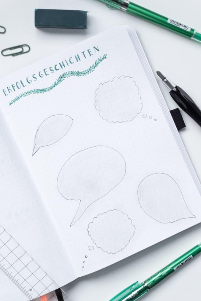 4 Bullet Journal Ideen Für Anfänger Schereleimpapier Diy