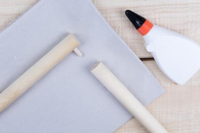DIY Garderobe selber bauen aus Holz und Leder - schereleimpapier DIY und Upcycling Blog aus Berlin - kreative Tutorials für DIY Geschenke, DIY Möbel und DIY Deko zum Basteln