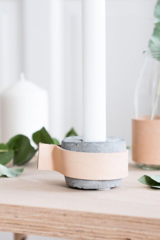 diy beton kerzenst nder selber machen skandinavisch schlichte deko. Black Bedroom Furniture Sets. Home Design Ideas