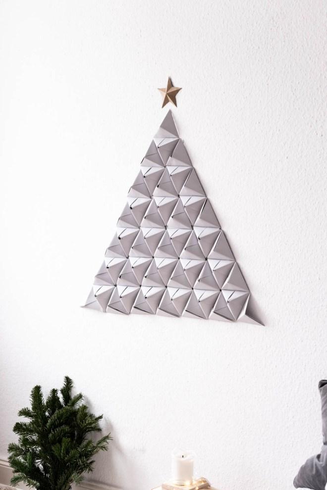 Der Nadelt Garantiert Nicht Origami Tannenbaum Basteln