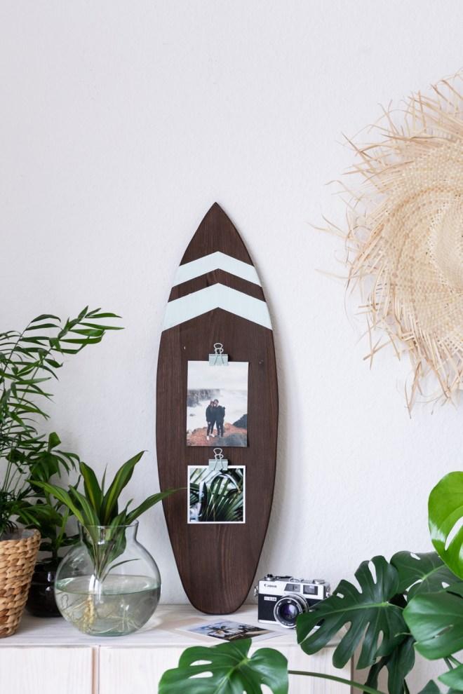 DIY Geschenk für Surfer schereleimpapier kreative Tutorials für DIY Geschenke, DIY Möbel und DIY Deko zum Basteln
