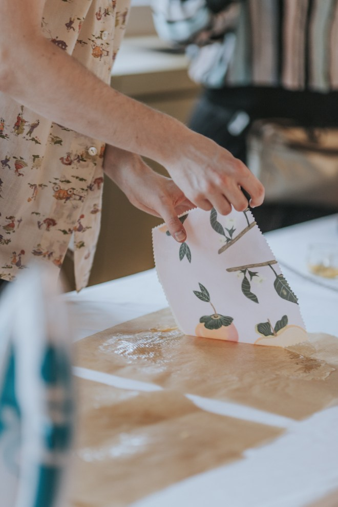 Diy Ideen Zu Ostern Bienenwachstucher Osterdeko Selber Machen