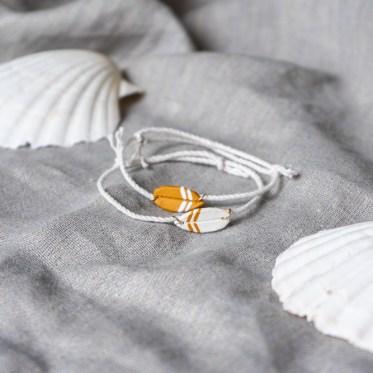 Schmuck basteln im Surfer Style schereleimpapier kreative Tutorials für DIY Geschenke, DIY Möbel und DIY Deko zum Basteln