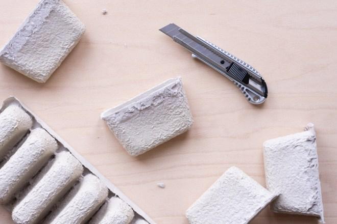 Upcycling mit Pappe- Vom Adventskalender zum Utensilo schereleimpapier kreative Tutorials für DIY Geschenke, DIY Möbel und DIY Deko zum Basteln