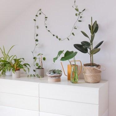 Möbel streichen Upcycling schereleimpapier DIY Blog