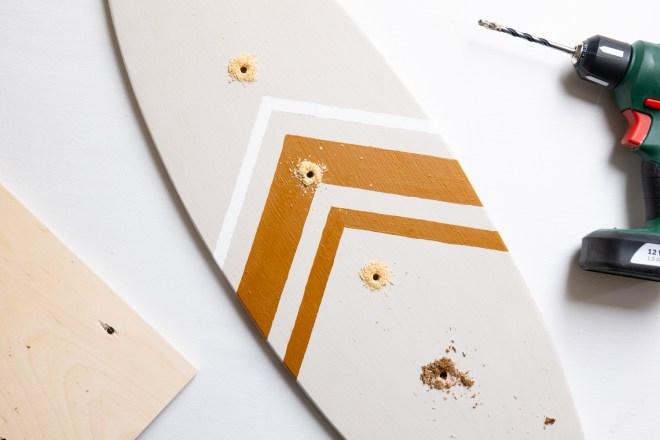 Schlüsselbrett diy schereleimpapier kreative Tutorials für DIY Geschenke, DIY Möbel und DIY Deko zum Basteln