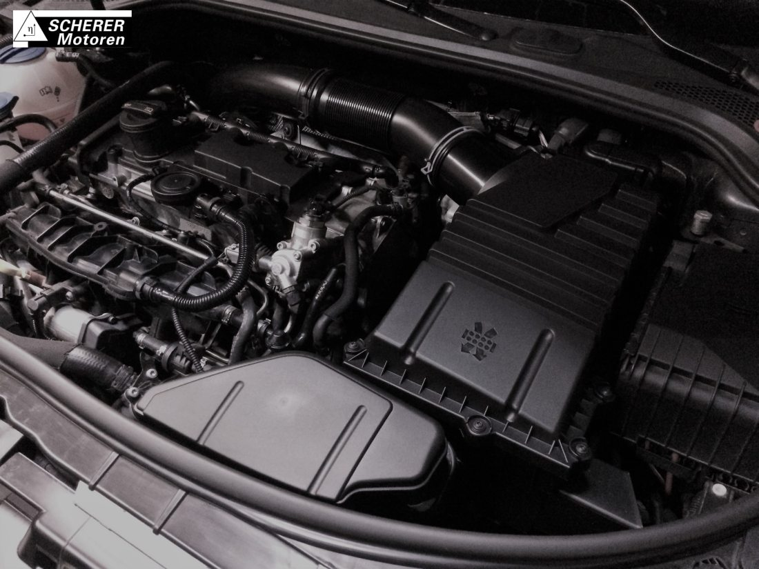 SCHERER Motoren Audi S3 Golf R OEM+ Intake