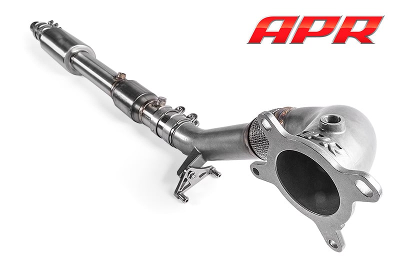 apr cast downpipe Audi S3 8P Golf 6R EA113 2.0t fsi