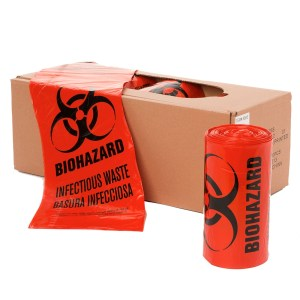 Biohazard, Infectious Waste Liners