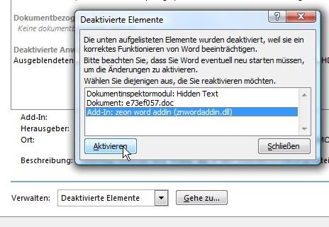 office-deaktivierte-elemente