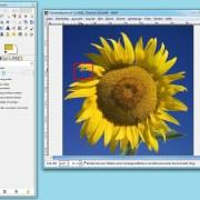 GIMP: Farbpipette einsetzen