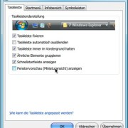 Windows: Fenstervorschau (Miniaturansicht) nicht anzeigen