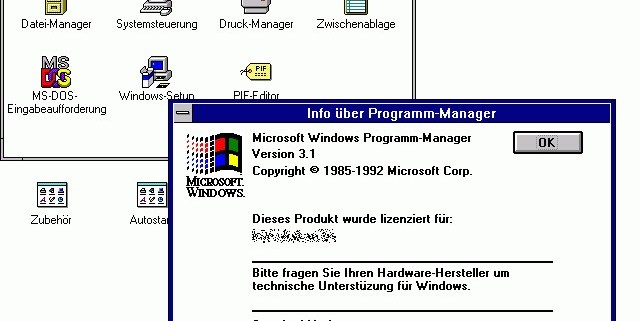Windows 3.1-Programm-Manager