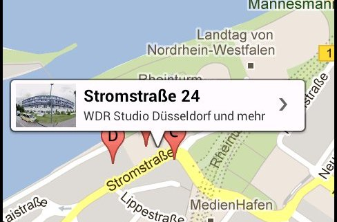 Google Maps auf Android