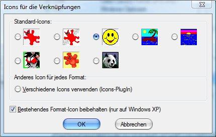 IrfanView: Symbole von zugeordneten Dateien