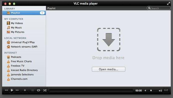 VLC 2.0 RC1 auf Mac