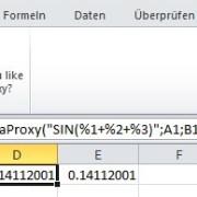 Excel-Add-in Theta Proxy XL