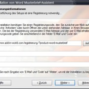 Word-Add-in: Musterbrief-Assistent